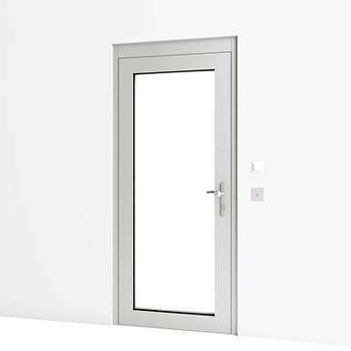 kindergarten secured entrance door