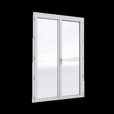 m3d alu - porte-fenêtre 2 vantaux