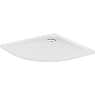 ultra flat shower tray 80x80 quad