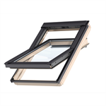 top operated std. pinewood roof window centre-pivot - gzl 1051