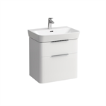 MODERNA R Vanity Unit 575 mm with two drawers