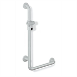 HEWI 801-33-210 L-shaped support rail with shower head holder