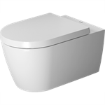 me by starck toilet wall mounted duravit rimless¨ 252909