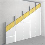 v-cw75/87.5; npd; npd; austria; lining with single metal stud frame, single-layer cladding