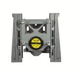 QT QuickTurn™ 1000 lb. Single Horizontal Adjustable Closet Carrier - QT-102-LR