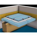 f193.de knauf integral gifafloor fhbplus clima - heating panelled access floors double-layer on bearing structure