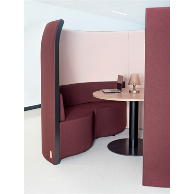 table for pentagone - alcove acoustic