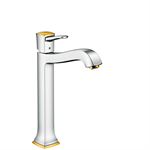 Metropol Classic Single lever basin mixer 260 with lever handle for washbowls with pop-up waste set 31303090