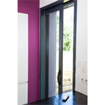 Single aluminium pocket door