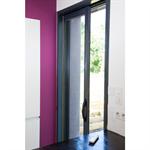 single aluminium pocket door