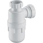 """p_1¼""""x75mm seal plastic bottle trap"""