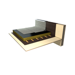 ecological waterproofing system for flat roofs that captures co2