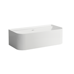 SONAR Bathtub, with wall connection at the back 1600 x 815 mm