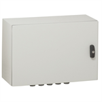 atlantic ip66 waterproof enclosures - ik10 - ral 7035 horizontal version 300x400x200 mm to 1000x1200x300mm