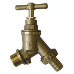 "1/2"" Hose Union Bib Tap with Double Check Valve 30743"