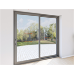 double sliding door aluminium