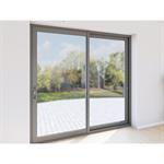 porte-fenêtre coulissant 2 vantaux aluminium