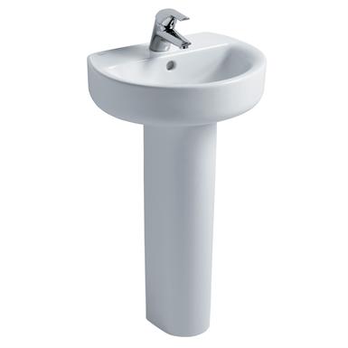 Concept Sphere 45cm Handrinse Washbasin, 1 Taphole
