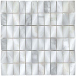CARRARA - MALLA FANCY CARRARA 30X30