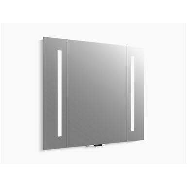"verdera® voice lighted mirror with amazon alexa, 40"" w x 33"" h"