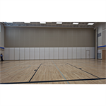 600 Series - 633E and 643E Continuously Hinged Panels Operable Partitions