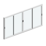 STRUGAL S86RP Window (Four-Leaf)