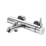 """series 100 exposed single lever mixer ½"""" for bathtub 100 1100"""