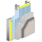 Parex Optimum WaterMaster EIFS, Metal Stud or CMU