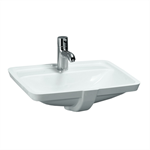 LAUFEN PRO S Built-in washbasin grinded 490 mm