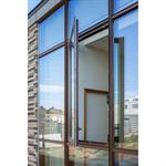 curtain wall - kadrille aa100 50mm cascade drainage
