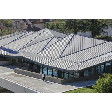 couverture zinc-toiture compacte à joint debout