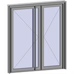 grand trafic doors - anti finger pinch version - double inward opening