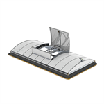 lamilux smoke lifts continuous rooflight b