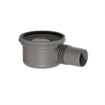 """kessel-drain body """"the superflat"""" 42700 lateral outlet ø50"""