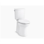 irvine™ comfort height® two-piece elongated 1.28 gpf chair height toilet