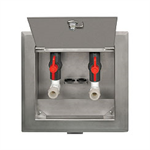 Recessed Dialysis Supply & Waste Box