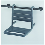 Nylon Care Suspendable shower seat, for the French market 380x515x390