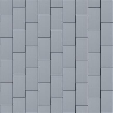 großraute fassade (600 mm x 1500 mm, vertikal, prepatina blaugrau)