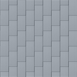 bardeaux façade (600 mm x 1500 mm, vertical, prepatina clair)
