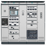 sivacon s8 lv switchboard - single front busbar top - complete set
