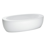 ILBAGNOALESSI ONE Bathtub, freestanding with panel 2030 x 1020 mm