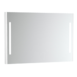 Emma Square Mirror with integrated light. 1200x800 mm.