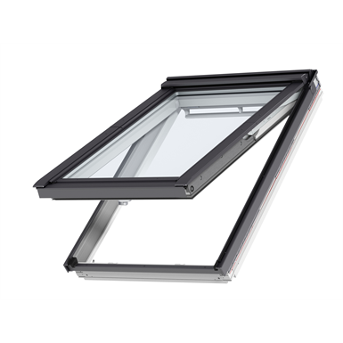 Roof window bottom operated pinewood tophung - GPL