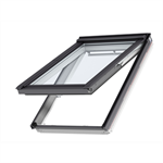 bottom operated pinewood tophung roof window - gpl