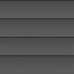shiplap panel facade (250 mm, prepatina graphite-grey)