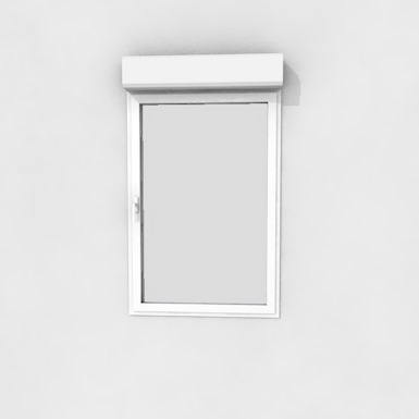 Single window with shutter