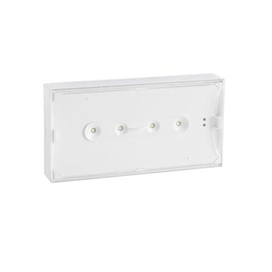 URAONE self-contained emergency lighting autotest-addressable luminaire