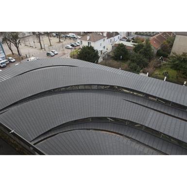 ZINC roofing - VMZINC Standing seam roof