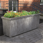 Folke rectangular, planter
