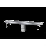 kessel-linear channel drain 6015100 stainless steel, b: 158, l: 1042, h: 55